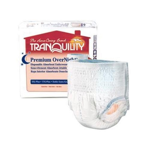 Amazon.com: Tranquility Premium OverNight Disposable Absorbent Underwear, Large: Health & Personal Care