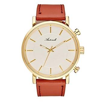Armbanduhr antoneli Leder weiß 40 mm ag6182 – 03