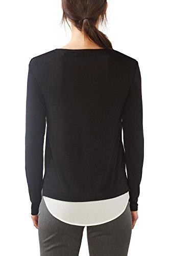 ESPRIT Collection, Camisa para Mujer Negro (Black 2)