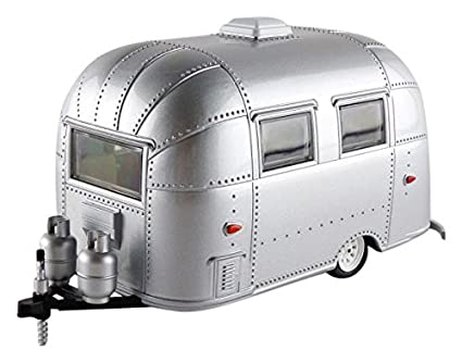 Airstream Travel Trailers >> Greenlight 18224 Airstream Bambi 16 Camper Trailer Silver For 1 24 Scale Model Cars And Trucks 1 24 Diecast Model