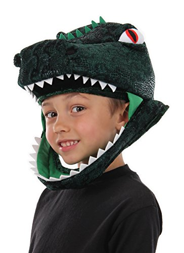 T-Rex Dinosaur Costume Jawesome Hat by elope (T-rex Head)