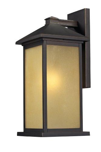 Z-lite medium outdoor wall mount light