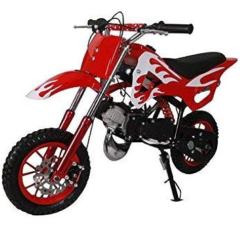 Pitbike mini 49cc Flames, con motor de 49cc de 2 tiempos ...