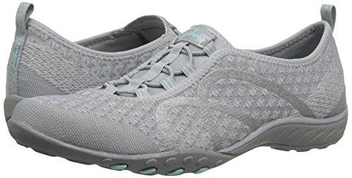 Skechers Sport Women's Breathe Easy Fortune Fashion Sneaker,Grey Knit,5 M US by Skechers (Image #6)