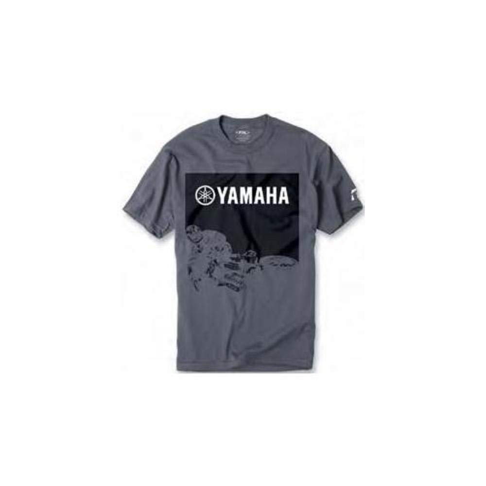 Factory Effex 16-88272 'YAMAHA' Whip T-Shirt (Charcoal, Large)
