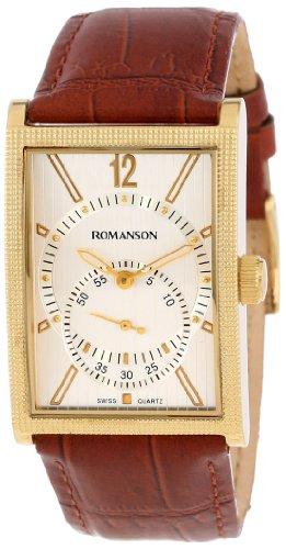 Romanson Men's DL5146NM1GAS1G Classic Watch