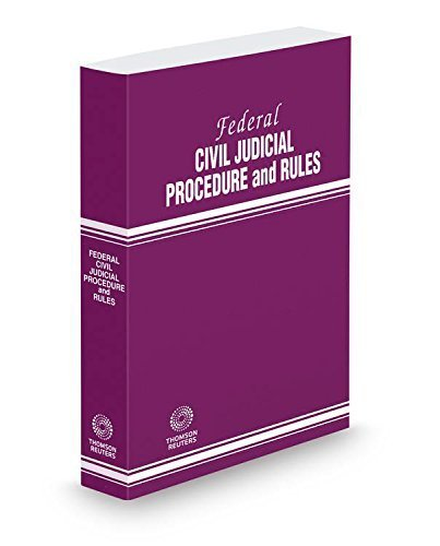 Federal Civil Judicial Procedure and Rules, 2015 ed. Paperback March 6, 2015