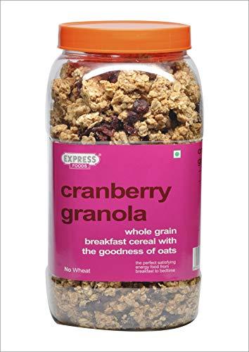 Express Foods Cranberry Granola Breakfast Cereal, 1kg