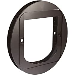 """SureFlap Cat Flap Mounting Adapter, Brown, 0.75"""" L X 12.6"""" W X 14.6"""" H, Small"""