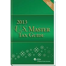U.S. Master Tax Guide (2013) - Hardbound Edition