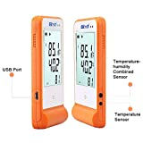 Elitech GSP-6 Temperature and Humidity Data