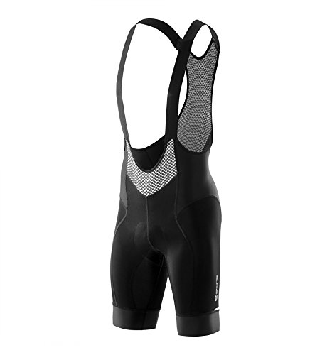 SKINS Men's Cycle Bib Long Cycling Tightss, Black, Large (Mens Cycle Bibs compare prices)