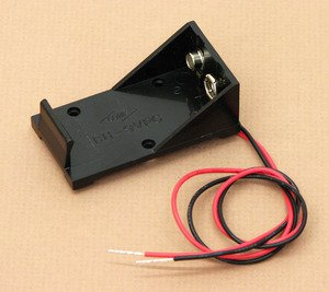 SEOH 9V Battery Cell Holder with Electrical Wire 12in for Ph