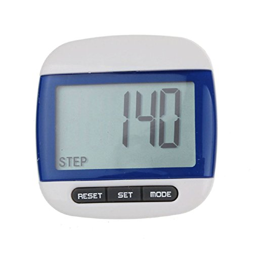 Malloom LCD Run Step Multi-Function Digital Pedometer Walking Distance Calori...