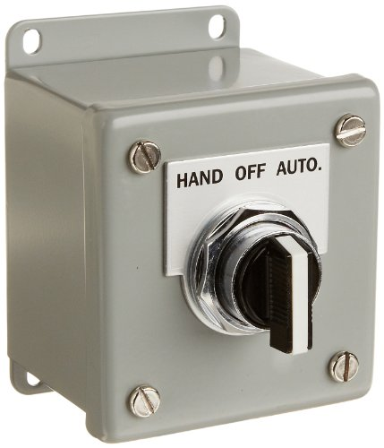 Siemens 52C156A Heavy Duty Selector Switch Control Station, 3 Positions, Water and Oil Tight, 1 Command Point,