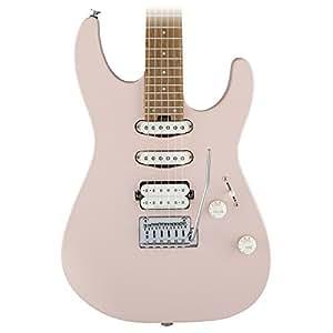 Charvel Pro-Mod DK24 HSS 2PT CM Dinky Electric Guitar (Shell Pink)