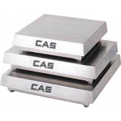 (CAS HCMS-S100 Mild Steel Enduro HC Series Scale Platforms, 100lb Capacity, 18