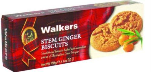 Walkers Stem Ginger Cookies - 5.3 oz - 2 pk (Ginger Walker)