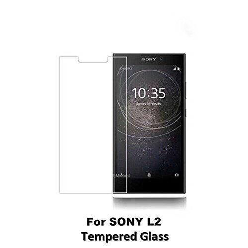 82ec38acb5 Micah 100% Shatterproof 9H Hardness Screen Guard Explosion Tempered Glass  Screen Protector for Sony Xperia L2