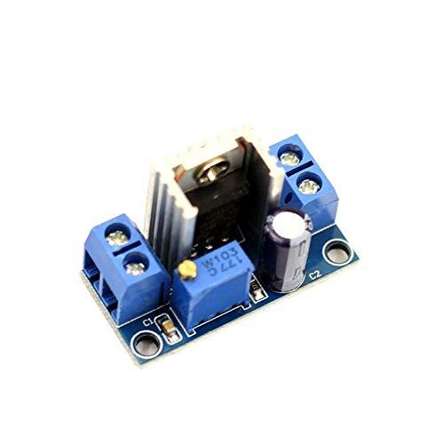 DEVMO LM317 DC-DC Converter Buck Step-Down Circuit Board Module Linear Regulator Adjustable Voltage Regulator Power Supply