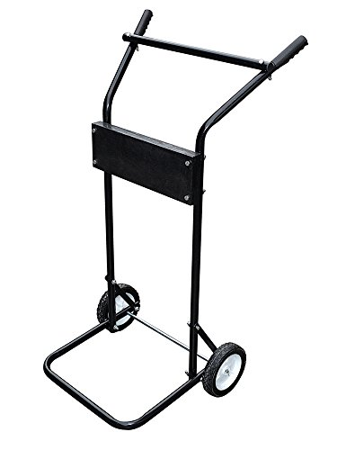 TMS 85 Lb 15hp Outboard Boat Small Motor Stand Light Duty Carrier Cart Dolly Trolling