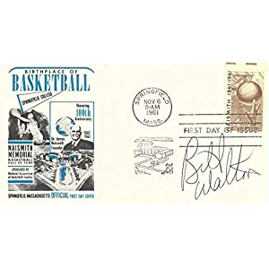 Bill Walton Signed Autographed 1961 First Day Issue Cachet Celtics JSA AA84552
