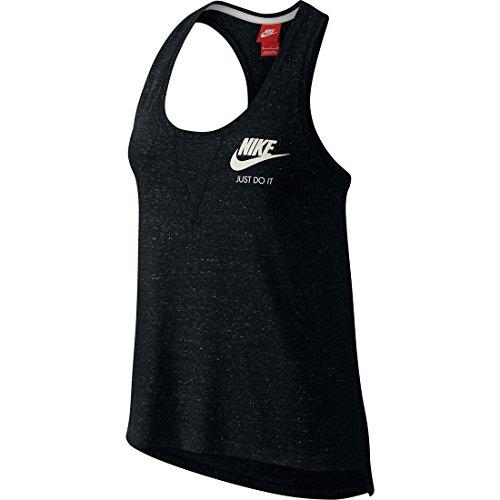 Nike Damen Tanktop Gym Vintage, Black/Sail, M, 726065-010