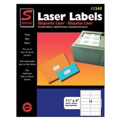 Amazon.com : Laser Mailing Labels, 1-1/3