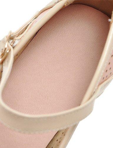 PDX/ Damenschuhe - Ballerinas - Outddor / Kleid / Lässig - Kunstleder - Flacher Absatz - Rundeschuh - Blau / Rosa / Weiß , pink-us9 / eu40 / uk7 / cn41 , pink-us9 / eu40 / uk7 / cn41