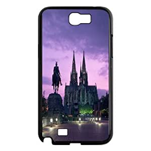 Custom Case Cologne Cathedral for Samsung Galaxy Note 2 N7100 C2M6237796