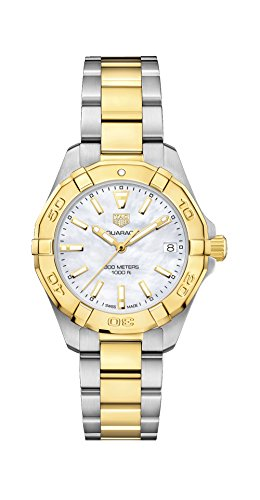 Tag Heuer Aquaracer Mother of Pearl Dial Ladies Two Tone Watch WBD1320.BB0320 by TAG Heuer