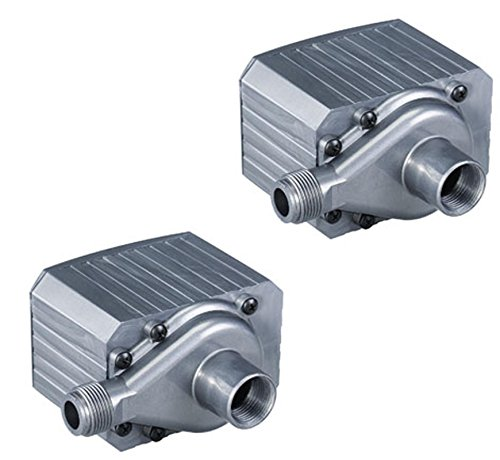 (2) PONDMASTER Model 9.5 Supreme 950 GPH Mag Drive Fountain Pond Pumps | 02710 by Danner Manufacturing, Inc.