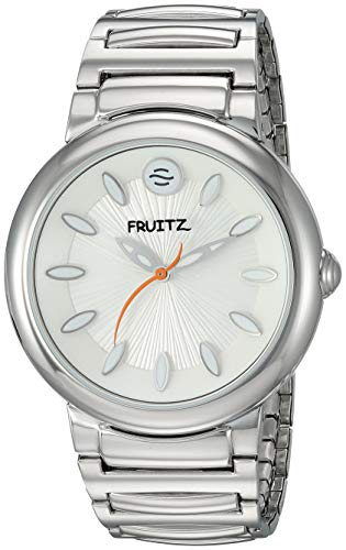 Fruitz Lemon Sorbet White Dial Stainless Steel Unisex Watch F36S-W-EXB