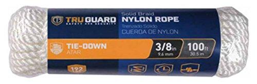 642221 White Diamond Braided Nylon Rope TG 3//8x100 Wht NYL The MIBRO Group