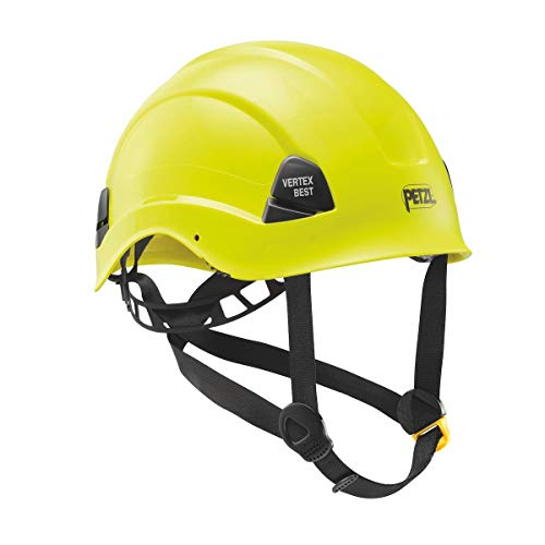 PETZL - Vertex Best, Helmet for Work at Height and Rescue, High-Visibility Yellow