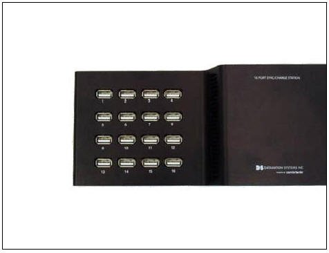 Datamation Systems 16-Port Universal Sync Charge USB Hub (DS-SC-U16a)