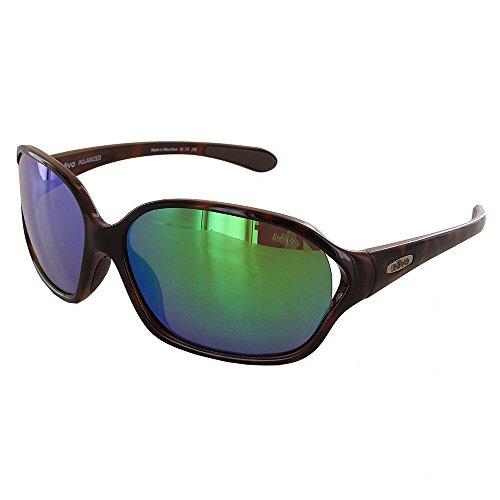 Revo Skylar Polarized Rectangular Sunglasses, Tortoise Green Water, 60 - Donate Pair Pair Buy Sunglasses A A