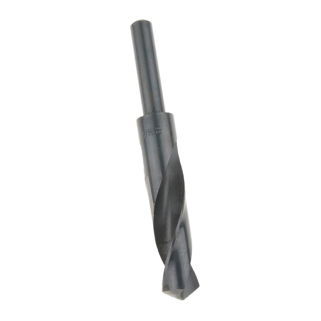 kesoto Outil De Forage Pour Foret H/élico/ïdal HSS /à Queue Cylindrique De Diam/ètre De Coupe De 21mm-28mm