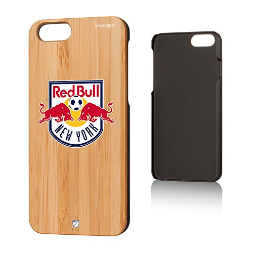 Keyscaper Bamboo iPhone 6 / 6S Case MLS - New York Red Bulls (Red Bull Soccer Phone Case)