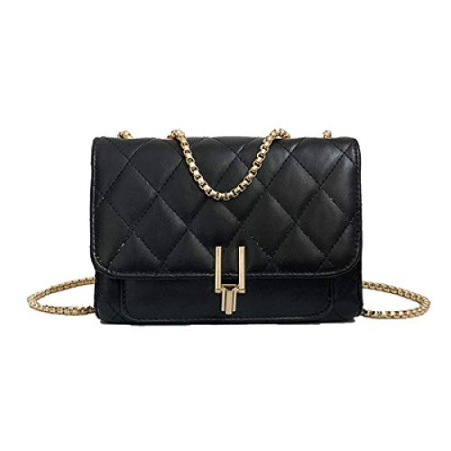 Bag Solid 2019 Spring Chain americana Diagonal Borsa Bag Zdy Trend Simple Messenger Cross Color B per New xXOwBq5dpn