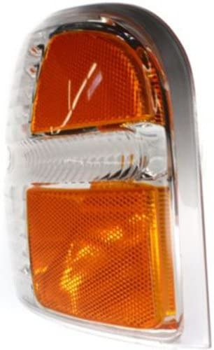 CPP Driver Side DOT//SAE Compliant Corner Light for 2002-2004 Ford Explorer FO2520167