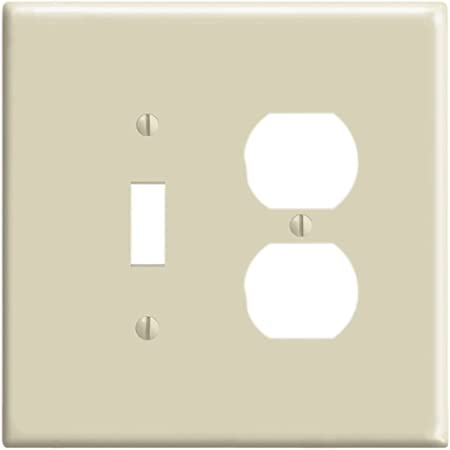 Wall Plates Outlet Covers Lot Of 25 Leviton 86001 1 Gang Toggle Light Switch Wall Plate Wallplate Ivory Home Garden Mod Ng