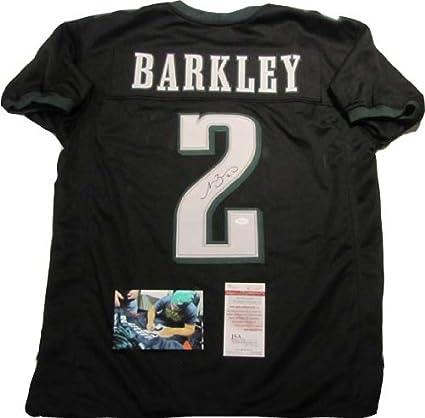 Matt Barkley Autographed Signed Philadelphia Eagles Black Jersey ...