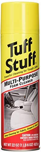 Asphalt Upholstery Fabric - Tuff Stuff BHBS0405A3272 Foam Multi-Purpose Cleaner, 22 oz Aerosol, 2 Pack