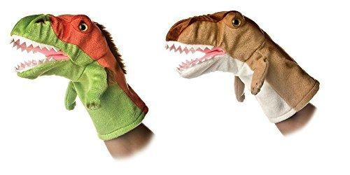 Aurora Bundle of 2 10'' Dinosaur Hand Puppets