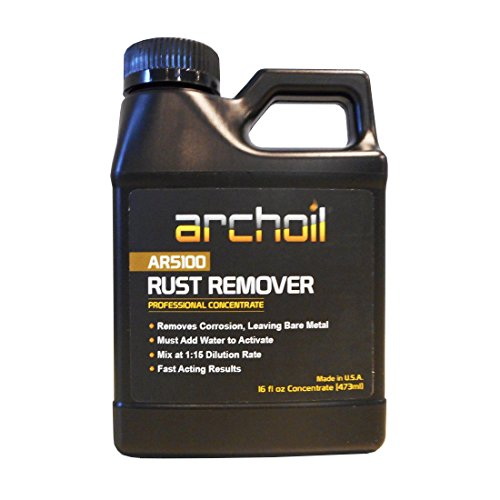 Archoil AR5100 Rust Remover (16oz) Super Concentrate - 1:15 Dilution (Archoil Inc)