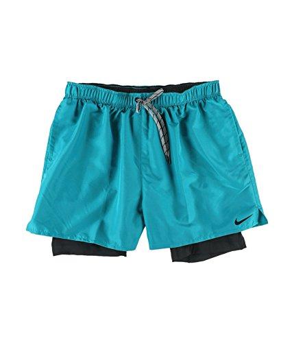 - Nike Mens 2-In-1 Training Swim Bottom Trunks Energy M