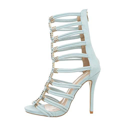 Ksl061 Ital Sandali Hellblau design Donna qxRZAIn8q