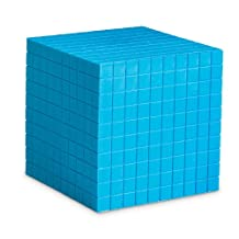 Learning Resources Blue Plastic Base Ten Cube