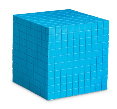 Learning Resources Blue Plastic Base Ten Cube ()